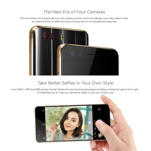 Глобальная версия Nubia Z17 MiniS 4G Смартфон 6 ГБ + 64 ГБ 5.2 дюймов FHD