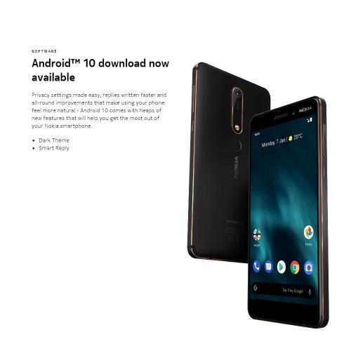 Глобальная версия мобильного телефона Nokia 6.1 4G фото
