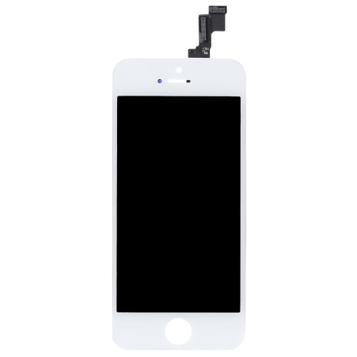 Outer LCD Capacitive Screen Multi-touch Digitizer Replacement Assembly Front Glass Replacement with IC for iPhone 5S