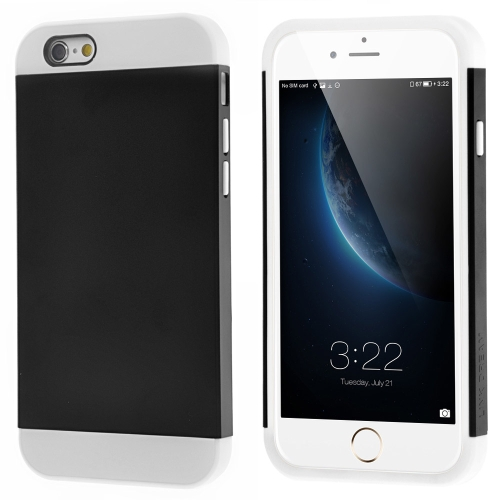 Link Dream Contrast Color Lightweight Fashion Bumper Shell Case Protective Back Cover for iPhone 6 6S Plus