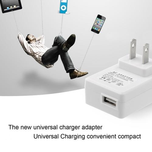 5V 2A Универсальное Зарядное Устройство Адаптер US Вилка USB Настенное Зарядное Устройство Быстрая Зарядка для iPhone 6S 6 Plus iPad Mini SAMSUNG S6 Edge HTC