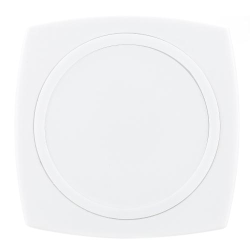 QI Wireless carregador Pad estação de carregamento para iPhone 6 6S 6 Plus 6S Plus Samsung Galaxy OBS4 Note5 nota de borda S6 S6 S6 borda Plus LG G4 Xiaomi nota Pro Huawei companheiro 7 P7 P8 Smartphone simples Fashinable Design alta eficiência ultrafino antiderrapagem superfície segura estável durável