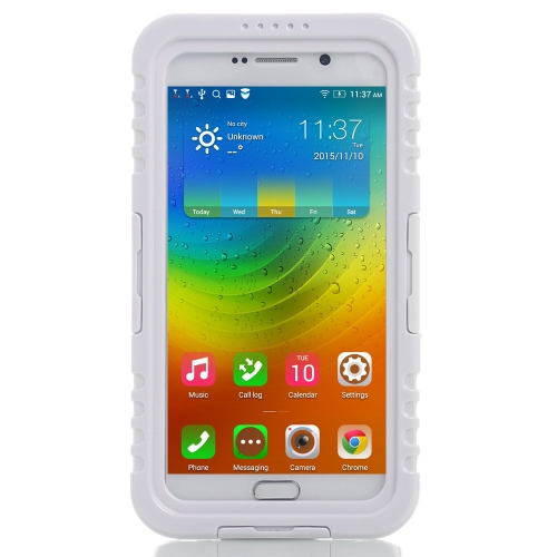 Light Weight Heavy Duty Case Shell Dustproof Waterproof IP68 Shockproof Fingerprint Recognition Touch Screen for Samsung Note 5 S6 Edge Plus