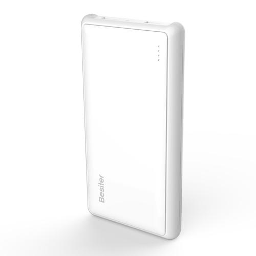 Besiter 20000mAh 2-USB Porto 2,1A Grande Capacidade Externa Banco de Poder Carregador Bateria para iPhone iPad Samsung HTC Sony LG