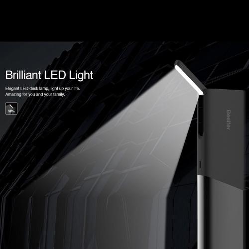 Besiter Уран 4 Портативное Зарядное Устройство 10000mAh Внешняя Литий-ионная Аккумуляторная Батарея Внешний Аккумулятор Большая Емкость Блестящий LED Светильник для iPhone iPad Samsung HTC Sony LG