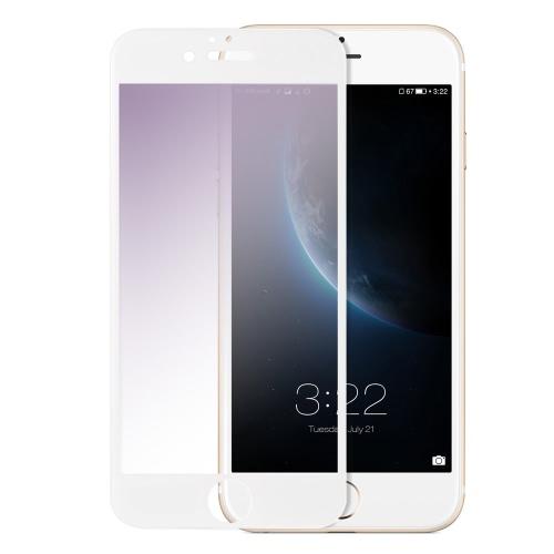 Original KKmoonPreminum em tela cheia tela de proteção de vidro temperado Protector Film tampa 9H Dureza roxo Luz ultrafinos Transparência Anti-zero Anti-pó Eye-atendimento alta para o iPhone 6 Plus 6S Além disso 5.5inch
