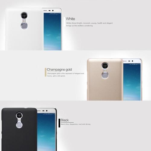 NILLKIN телефон защитный чехол задняя крышка Shell для 5.5 дюймов Xiaomi редми Note3 Fingerprint Эко-чистый материал Стильный портативный ультратонкий против царапин Anti-пыли Прочный