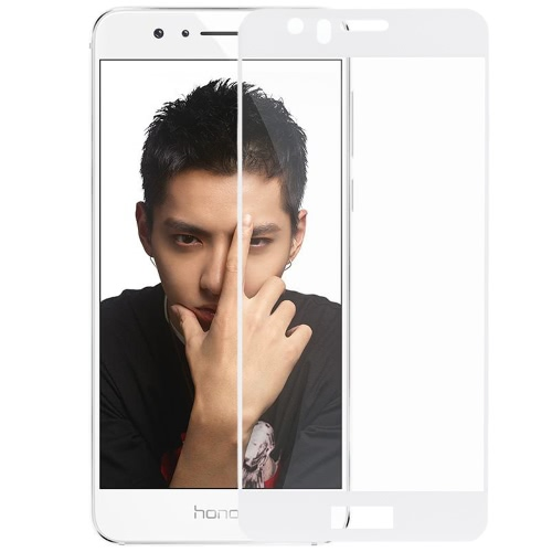 Tela Icheckey Premium Protection Film 0,33 milímetros real vidro temperado Protector Guard Anti-estilhaçar para Huawei Honor 8 Smartphone