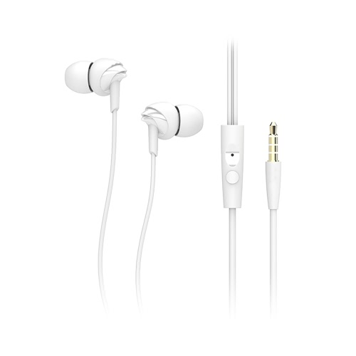 Rock Y1 Earphone Microphone Piston Headset Headphone Listening Music with Earbud for iPhone 6 6 PlusSmartphone Wire-control