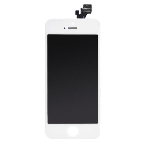 4 polegadas Telefone Parts Outer LCD tela capacitiva multi-touch digitalizador substituição de substituição do conjunto frontal de vidro IC com as Ferramentas de parafuso para iPhone 5