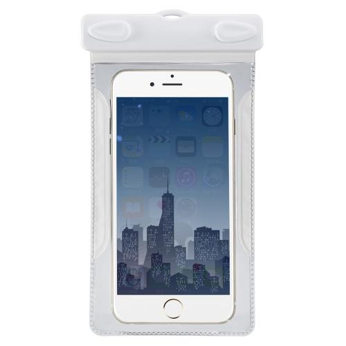 """Bolsa à prova d'água de bolsa subaquática Bolsa de saco seco com pente para telefone celular de 4-6 """"Touchscreen"""