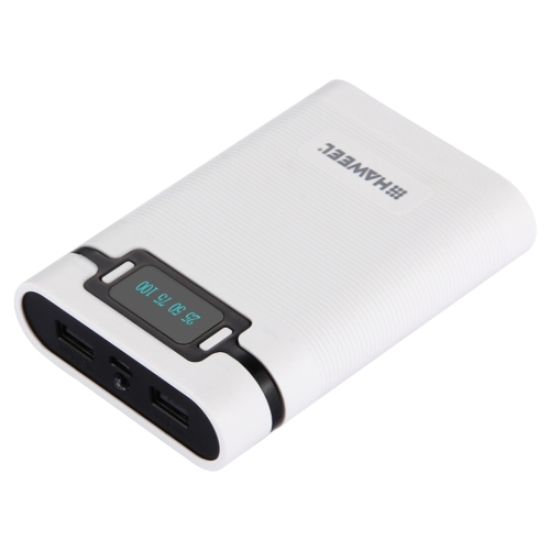 4 * 18650 Battery LED Display Power Bank Box Dual USB Mobile Phone Charging Case