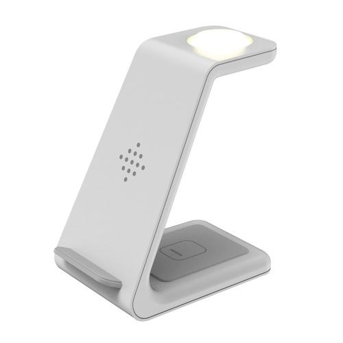 Телефонные и беспроводные зарядные устройства три в одном с ночником