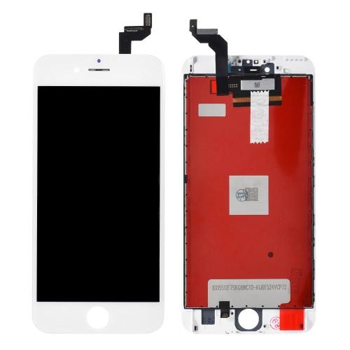 Peças de telefone de 5,5 polegadas para iPhone 6S Plus LCD de tela capacitiva Multi-touch Montagem de substituição de digitalizador Recipiente de vidro frontal com ferramentas de parafuso