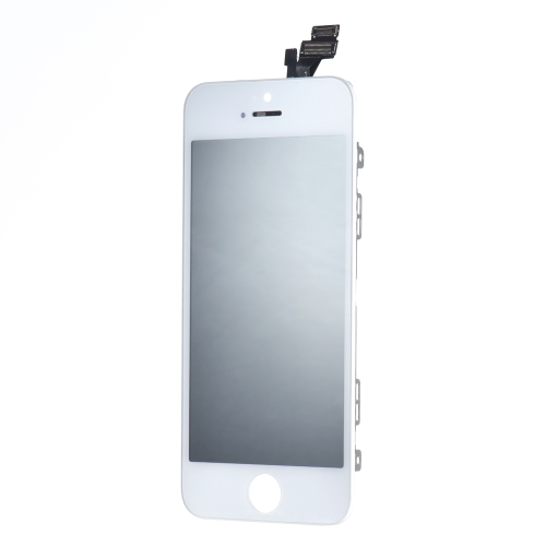 Reposição de tela para iPhone 5S 4 polegadas tela LCD capacitiva Multi-touch Digitizer Replacement Assembly Front Glass