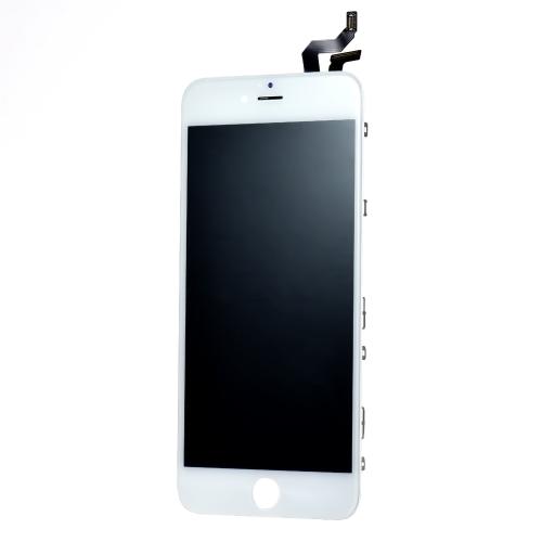 Peças de telefone de 5,5 polegadas para iPhone 6S Plus LCD exterior capacitivo Multi-touch Digitizer Replacement Assembly Front Glass Replacement IC