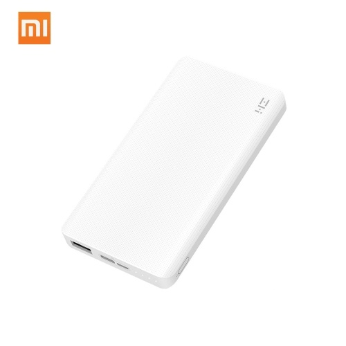 $8.20 OFF Xiaomi ZMI 10000mAh Power Bank,free shipping $22.99(Code:MPAA0258)