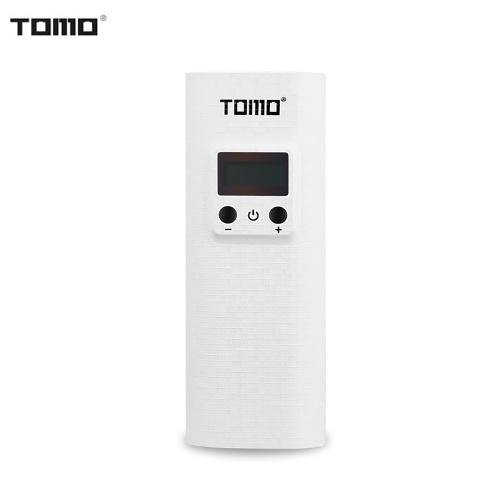 TOMO K2 Portable 18650 Lithium Chargeur de batterie double Ports USB Power Bank avec affichage LCD numérique pour les téléphones portables