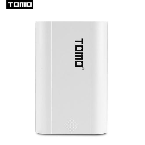 TOMO T3 Portátil 18650 Li-ion Carregador de Bateria Dual USB Portas Banco De Potência com Display LCD Digital para Celulares