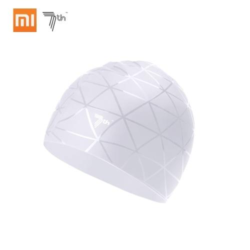 Xiaomi Мягкая силиконовая плавательная крышка Водонепроницаемый спортивный плавательный бассейн Hat Ears Protection для взрослых Мужчины Женщины