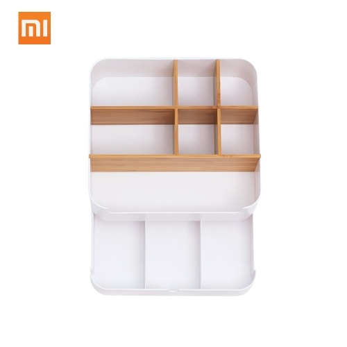 Xiaomi Multifuncional Caso De Armazenamento De Maquiagem Escova Recipiente De Plástico Caso Gaveta Organizador de Jóias Caixa de Casket Caixas De Armazenamento De Batons