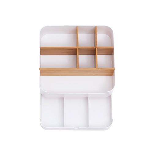 Xiaomi Custodia multifunzione Custodia per trucco Spazzola contenitore plastica Cassetto per gioielli Contenitore per ufficio Scatola per scrigni Scatola per scatole di rossetti