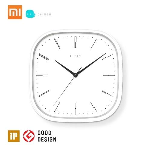 Новый Xiaomi Mijia Chingmi QM-GZ001 Настенные часы Ультра-бесшумные Ультра-точные Известный дизайнерский дизайн Простой стиль для свободной жизни