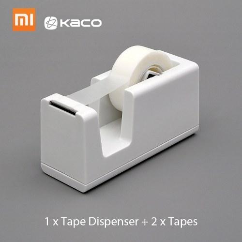 Xiaomi Kaco LEMO Dispenser per nastri con 2 rotoli Nastri Tape Cutter Set Supporto per cancelleria Articoli di cancelleria per Office School Home