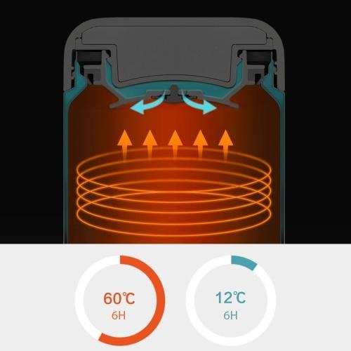 550 мл Xiaomi Pinlo тушеная мензурка с вакуумной изоляцией из нержавеющей стали Кулинария термос Портативный легкий напиток Пищевой суп Суп каша Обед Дорожное ведро фото