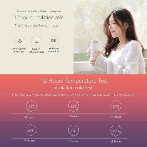 Xiaomi 17oz Mi Термос из нержавеющей стали 316L из нержавеющей стали Спортивная бутылка для воды фото