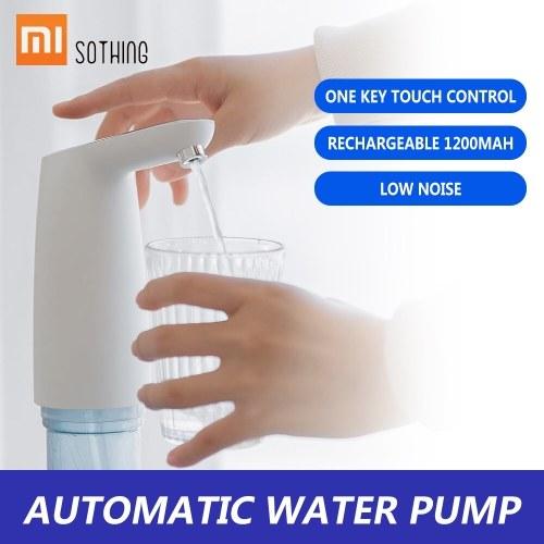 Xiaomi SOTHING Автоматический Водяной Насос Мини Сенсорный Выключатель Электрический Диспенсер Водяной Насос Беспроводной USB Аккумуляторная Бутылка Питьевой Насос