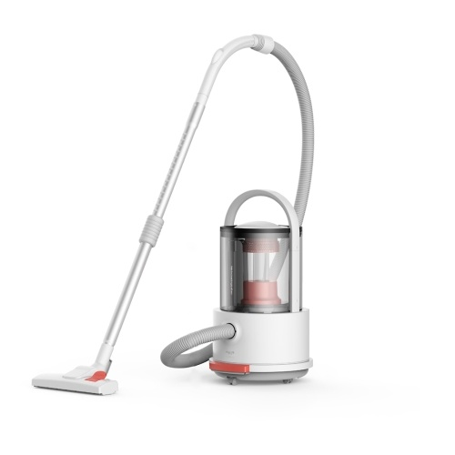 Xiaomi Deerma Vacuum Cleaner TJ200 Wet and Dry Multifunctional Bucket Vacuum Cleaner Household Floor Cleaner Dust Collector with Floor Brush 18000Pa Strong Suction 1200W 6L Capacity 220V