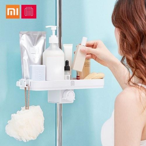 Xiaomi Dabai Bathroom Organizer Shower Hanging Shelves Storage Rack Holder Shampoo Tray Single Tier Head Holder Easy Installation With Hook