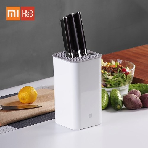 Xiaomi Huohou Kitchen Knife Holder Stand Multifunctional Tool Holder Knife Block Organizer Cooktops Kitchen Storage Container Washable