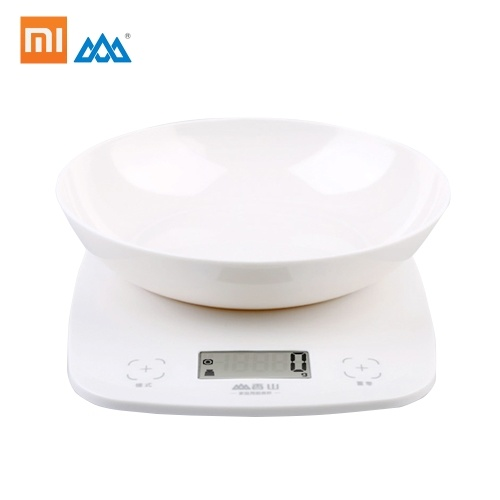 Xiaomi Xiangshan Kitchen Scale 2g-5kg Portable Electronic LCD Display Intelligent Touch Switch Scale Detachable Tray