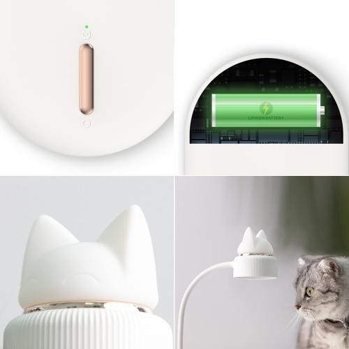 Xiaomi Youpin Bcase Настольная лампа для чтения Cute Cat Светодиодная 3-уровневая яркость Настольная лампа Low Blue Ray Без строба для защиты глаз Настольная лампа фото