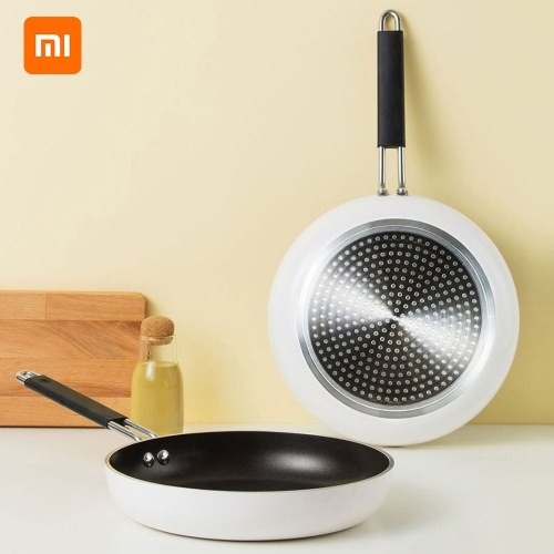Xiaomi Youpin Cooking Frying Pan Skillet Nonstick Fry Pan Induction Compatible Multipurpose Cookware Use Gas Stove Frying Pan Kitchen Pot for Home Kitchen or Restaurant
