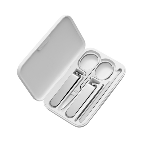 Xiaomi Mijia Nail Clippers Set Stainless Steel Trimmer Pedicure Care Clippers Earpick Nail File Professional Beauty Trimmer Tool