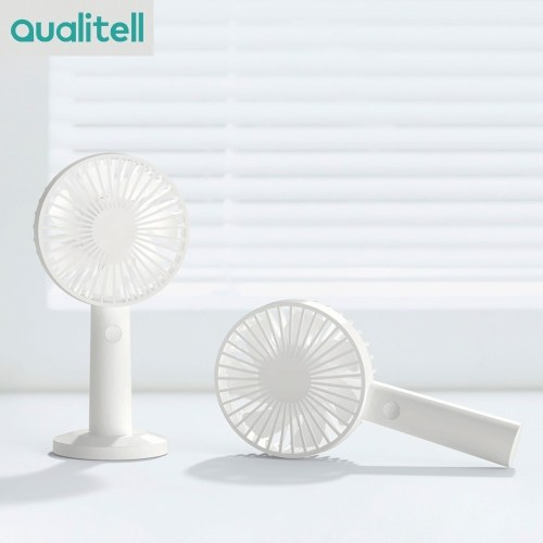 Qualitell Fan Portable Handheld Fan Rechargeable Micro USB Port Handy Small Mini Fan For Walking Taking Bus Summer Travelling From Xiaomi Youpin