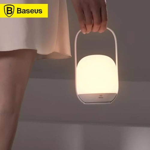 Xiaomi Youpin Baseus Handheld Night Light Large Battery Capacity Stepless Dimmable Night Light Portable Table Lamp Reading Lamp 3000-5000K Rechargeable USB LED Light