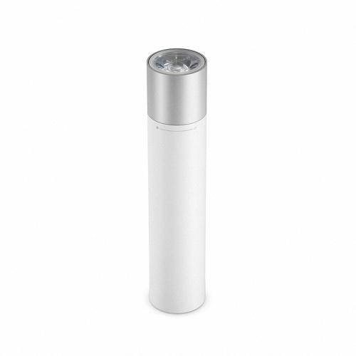 Xiaomi Pocket Flashlight Linterna eléctrica portátil al aire libre 3350mAh Power Bank Batería de respaldo externa Fuente de alimentación de emergencia Estación de energía para iPhone X 8 Plus Samsung HTC Smartphones