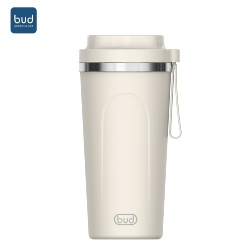 Youpin BUD Coffee Grinder Powerful Electric Coffee Bean Grinder Fruit Vegetables Processor Coffee Filtration Vacuum Cup Keeping Hot and Cold Mini Tool Gift for Home Kitchen Office Dormitory