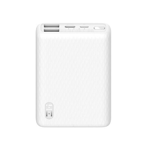 Xiaomi Youpin ZMI Power Bank Mini banco de bateria portátil 10000mAh Carregamento rápido bidirecional Carregamento de pequena corrente USB-C 22,5W Carregamento rápido