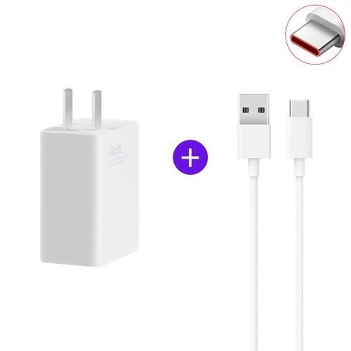 Xiaomi 55W GaN Fast Charger & Type-C Charging Cable MINI Quick Charger