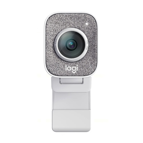 Logitech StreamCam HD Web Camera with Microphone Live Streaming Webcam Full 1080p 60fps Vertical Video Smart auto Focus and Exposure Dual Camera-Mount Versatility with USB-C for YouTube Gaming Twitch PC/Mac Conferencing and Video Calling-White, TOMTOP  - buy with discount