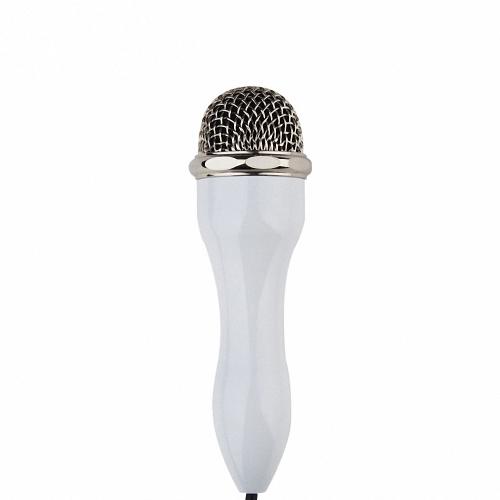 Skerei Candy Microfone de smartphone Monitoramento em tempo real Fidelity Recording Redução de ruído inteligente Receptor portátil Singing Machine para iOS Android Windows