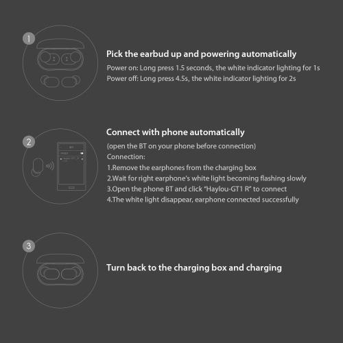 Haylou GT1 Mini True Wireless Earphone Touch Control