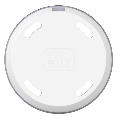 NILLKIN Magic Disk Ⅲ Беспроводное зарядное устройство (быстрое зарядное издание) Qi Standard Smart Chip Enengy Сохранение безопасности Защита Беспроводное быстрое зарядное устройство для iPhone 8 X Samsung Galaxy S8 Note 8 фото