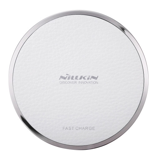 NILLKIN Magic Disk Ⅲ Carregador sem fio (Fast Charge Edition) Qi Standard Chip inteligente Enengy Saving Safety Protection Carregador rápido sem fio para iPhone 8 X Samsung Galaxy S8 Nota 8