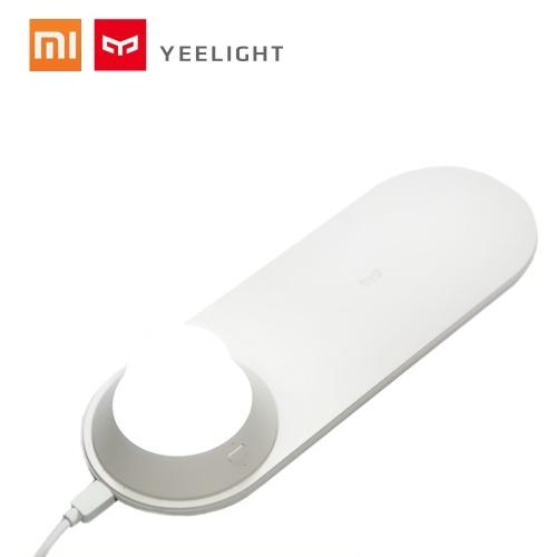 Xiaomi Yeelight Chargeur sans fil avec Veilleuse de nuit EyeCare Light Attraction magnétique 10 W Charge rapide pour iPhone Samsung Huawei Xiaomi Smartphones